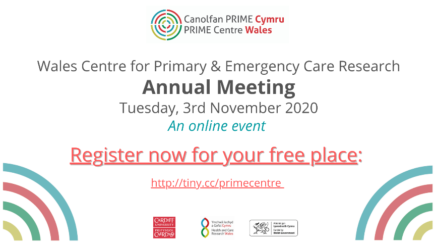 PRIME Centre Wales Annual Meeting 2020