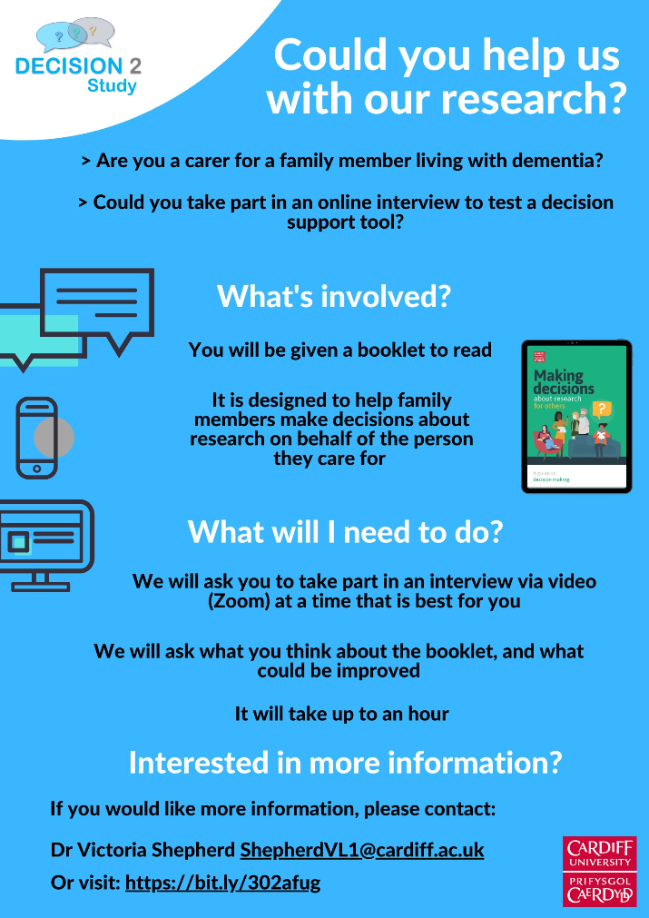 DECISION2 Study - Could you help us with our research