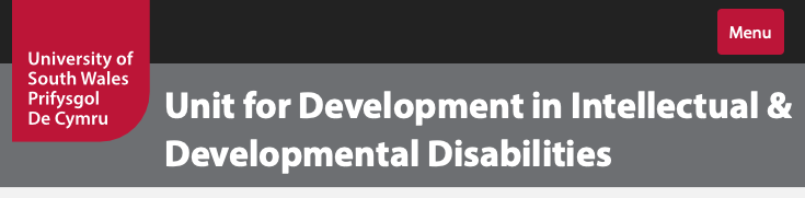 Unit for Development in Intellectual & Developmental Disabilities